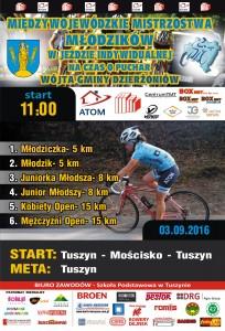OSiR Plakat Wyścig Kolarski 2016